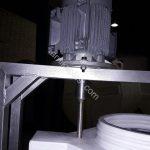 الکترو موتور میکسر پلی اتیلن