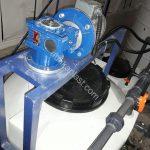 الکترو موتور میکسر پلی اتیلن 500 لیتری