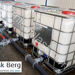 تولید و ساخت مخازن پلی اتیلن حمل مواد شیمیایی