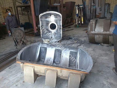 ساخت قالب مخازن پلی اتیلن
