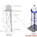 طراحی و ساخت و اجرای مخازن هوایی