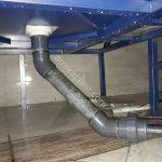 لوله میکسر U_PVC 500 لیتری پلی اتیلن