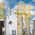 میکسر و مخزن ذخیره مواد شیمیایی