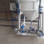 میکسر 3000 لیتری ته قیفی پلی اتیلن به همراه پایپینگ U-PVC